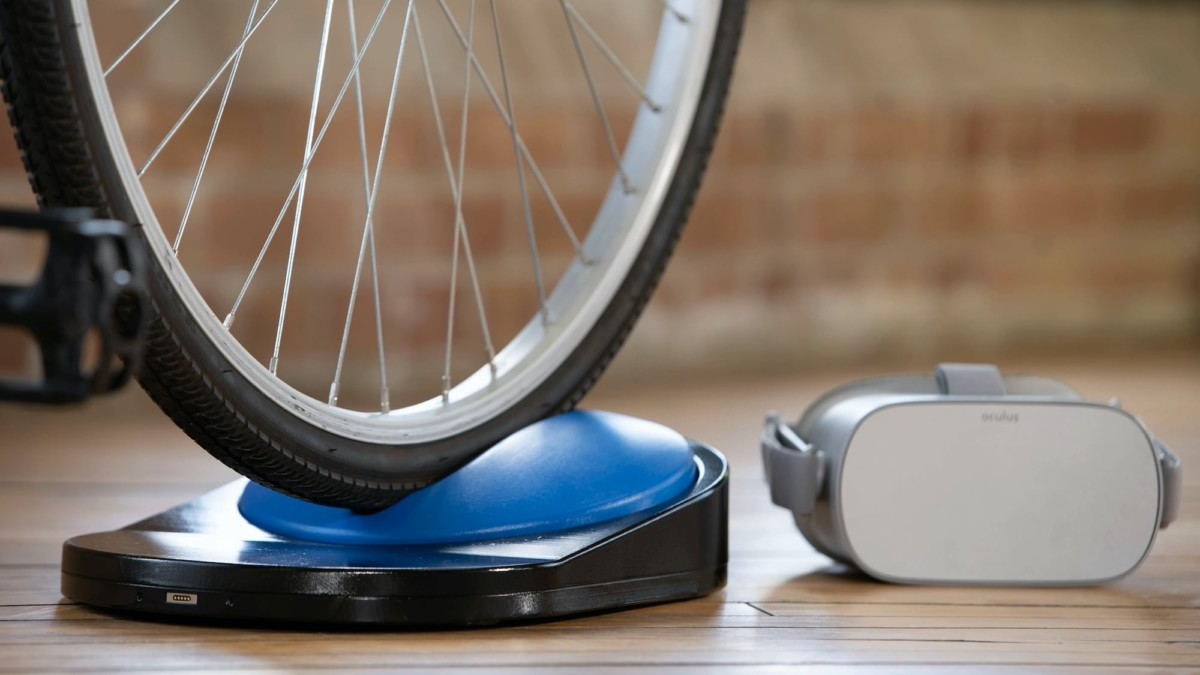 Blync VR bike controller lets you cycle in beautiful virtual environments
