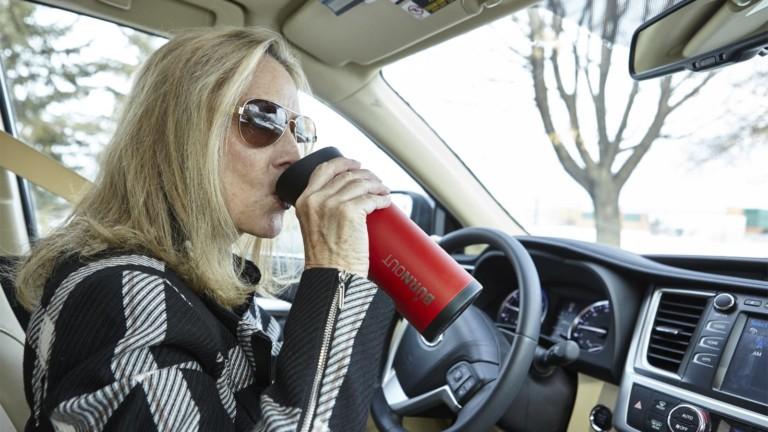 Burnout temperature-regulating mug uses rocket-science technology