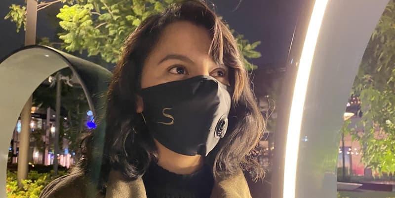 CSC01 Copper Shield Elegant Face Mask