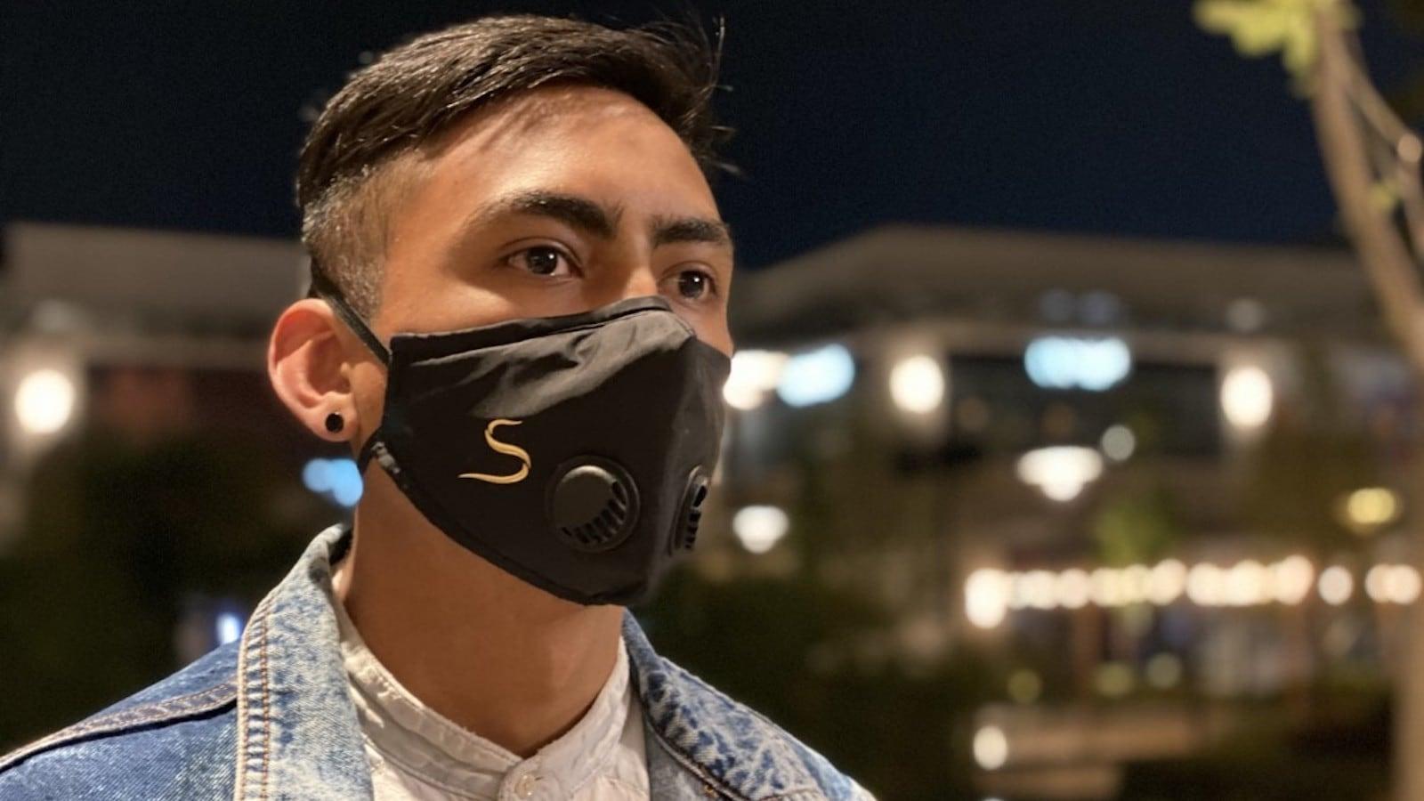 CSC01 Copper Shield elegant face mask comes in 3 different designs