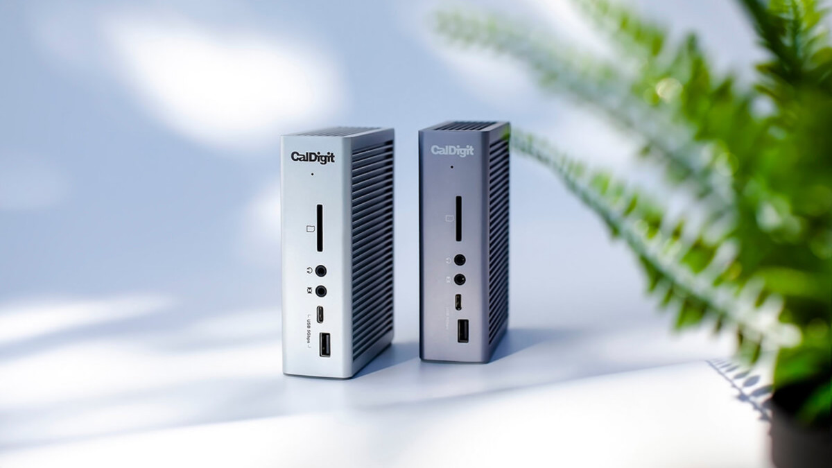 CalDigit TS3 Plus Thunderbolt 3 Dock provides up to 87 watts of power delivery