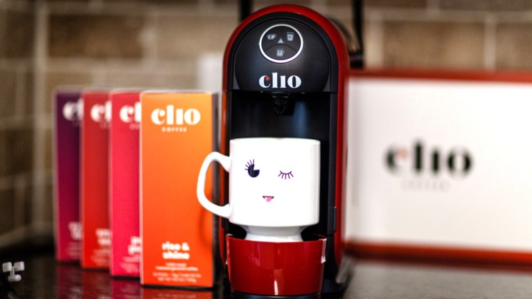 Clio Luxury Brewer hot and cold coffee maker brews drinks in 1 minute