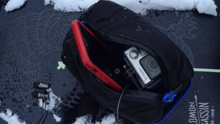 Cold Case Gear The Pouch traveling organizer is built for hot and cold