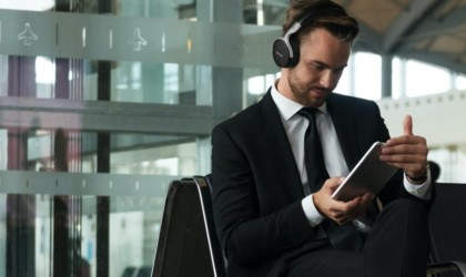 Denon AH-GC30 Noise-Canceling Headphones