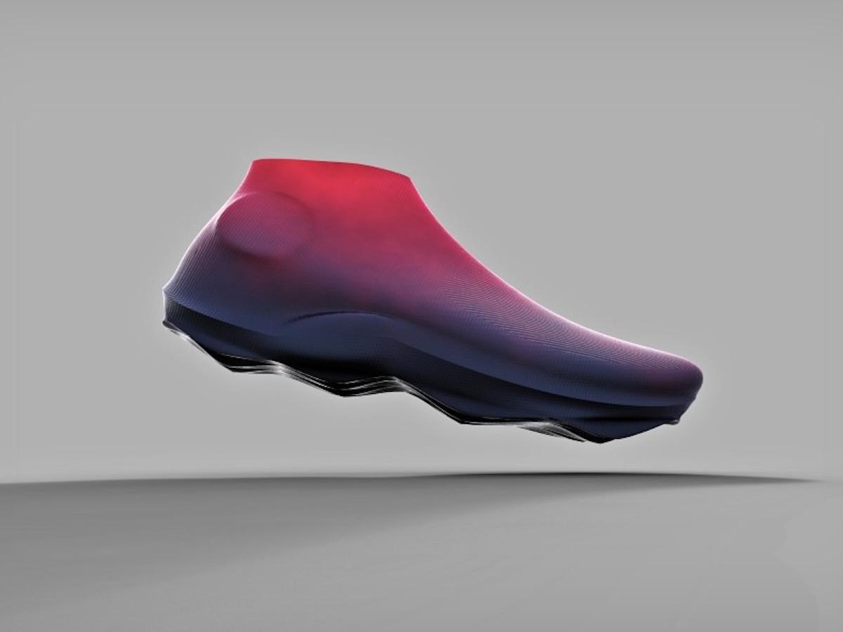Dewayne Dale 3D Surprise conceptual footwear combines functionality and design