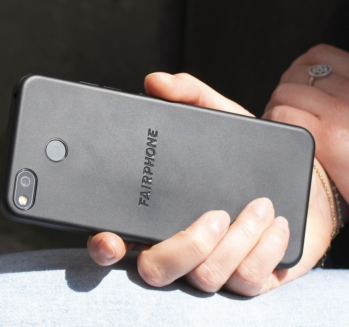 Fairphone 3+ sustainable phone uses 37% recycled plastics