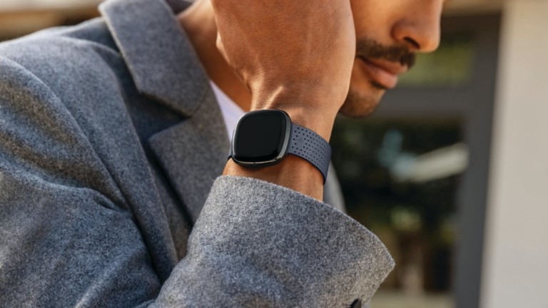 Fitbit Sense advanced health smartwatch monitors your heart, stress, and health