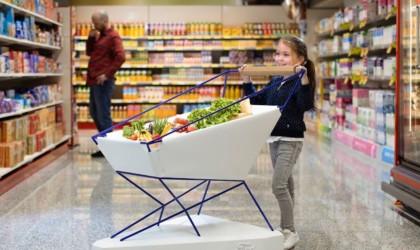 Ford Self Braking Shopping Cart