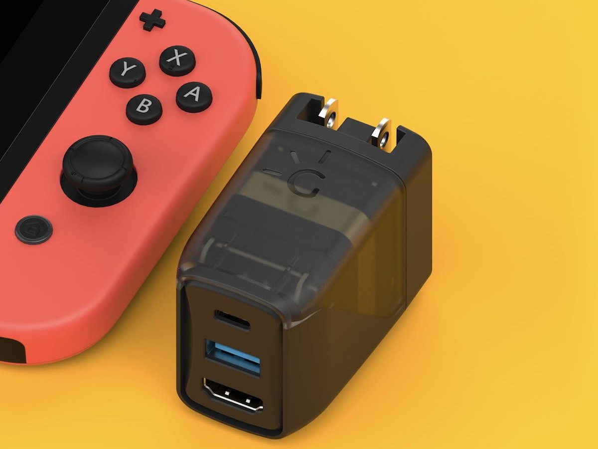 Genki Covert Dock Nintendo Switch converter brings games to the TV