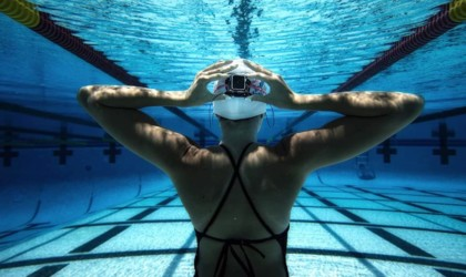 H2O Audio Interval Underwater Apple Watch Earbuds