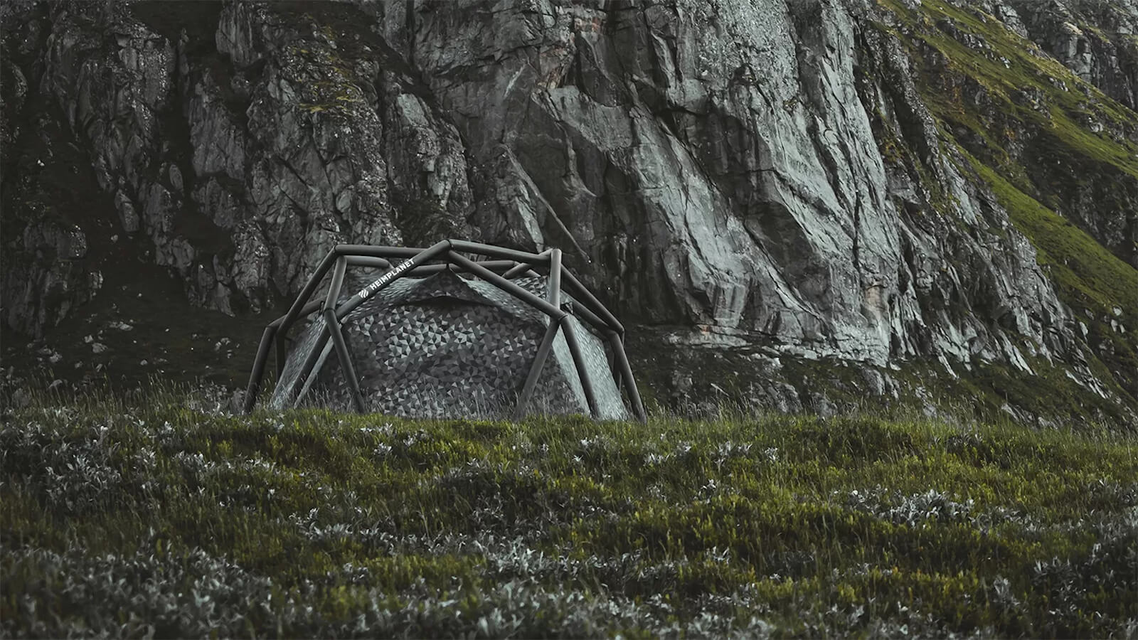 HEIMPLANET The Cave inflatable tent sets up in less than a minute