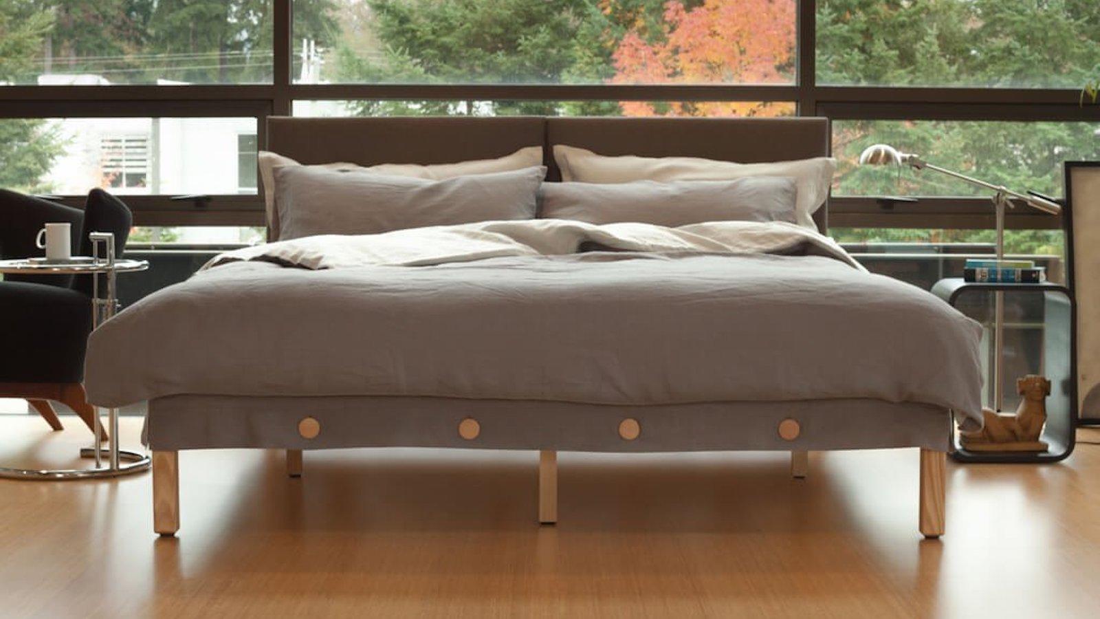 Horizontal Button Bed pain-relief mattress