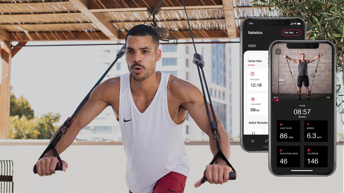 This smart resistance band is unbelievably effective