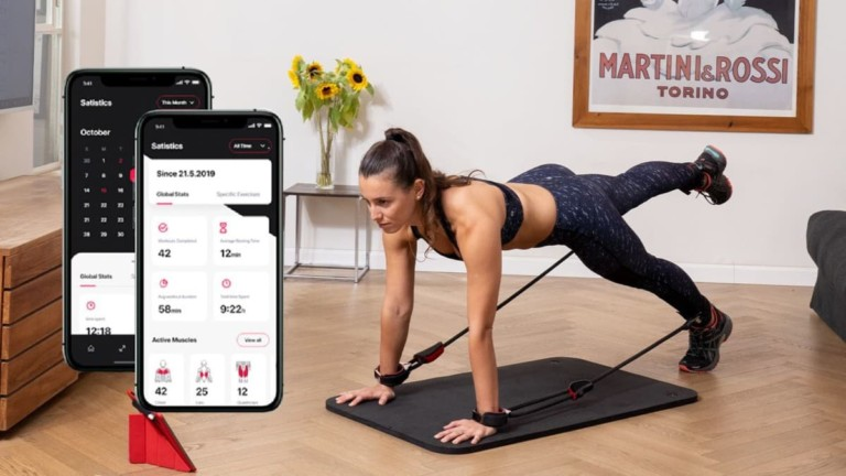 Hyfit Gear 1 Workout App and Smart Resistance Band System