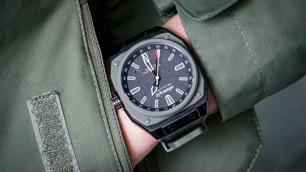 Infantry modular watches have interchangeable components