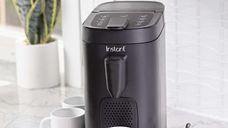Instant Pod coffee and espresso maker delivers a rich, smooth flavor