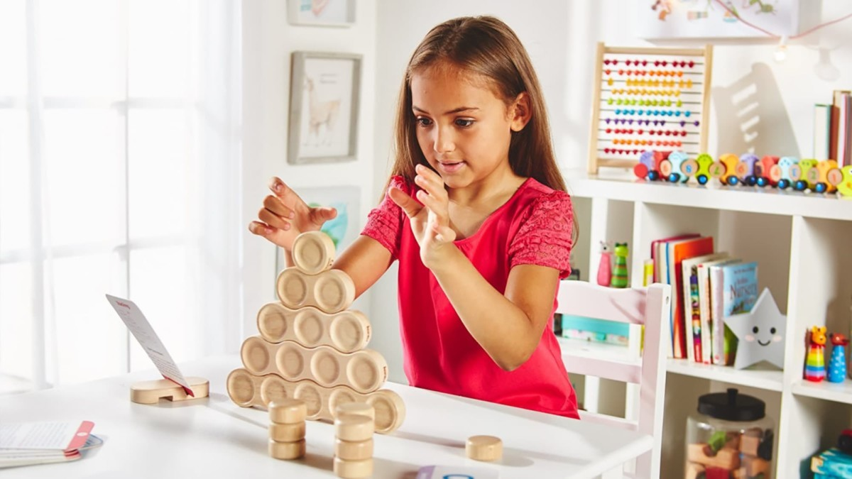 These remarkable STEM blocks can improve kids' math skills