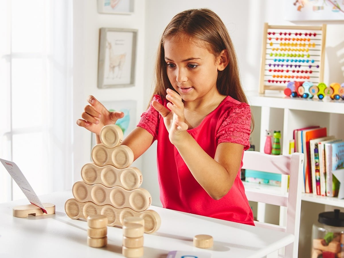 These STEM blocks are great for kids' educational growth