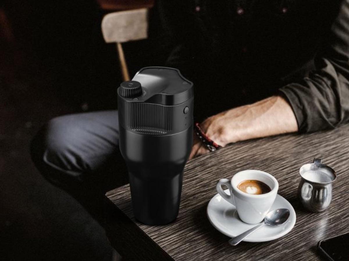 Kopipresso Brewer Mug coffee brewing system is a great WFH coffee solution