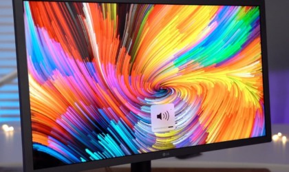 LG UltraFine 4K Display High-Performance Computer Monitor