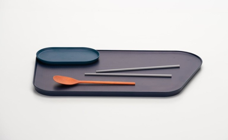 Lacquered Kitchenware Wooden Serving Set