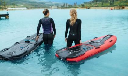 Planche de surf électrique gonflable Lampuga Air