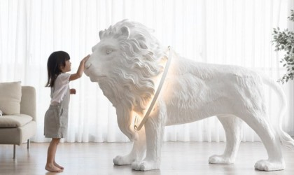 Lion X Life Size Floor Light