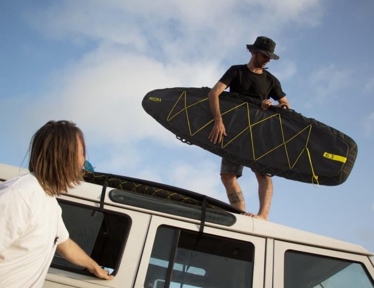 MIGRA - Housse de surf pour les aventuriers
