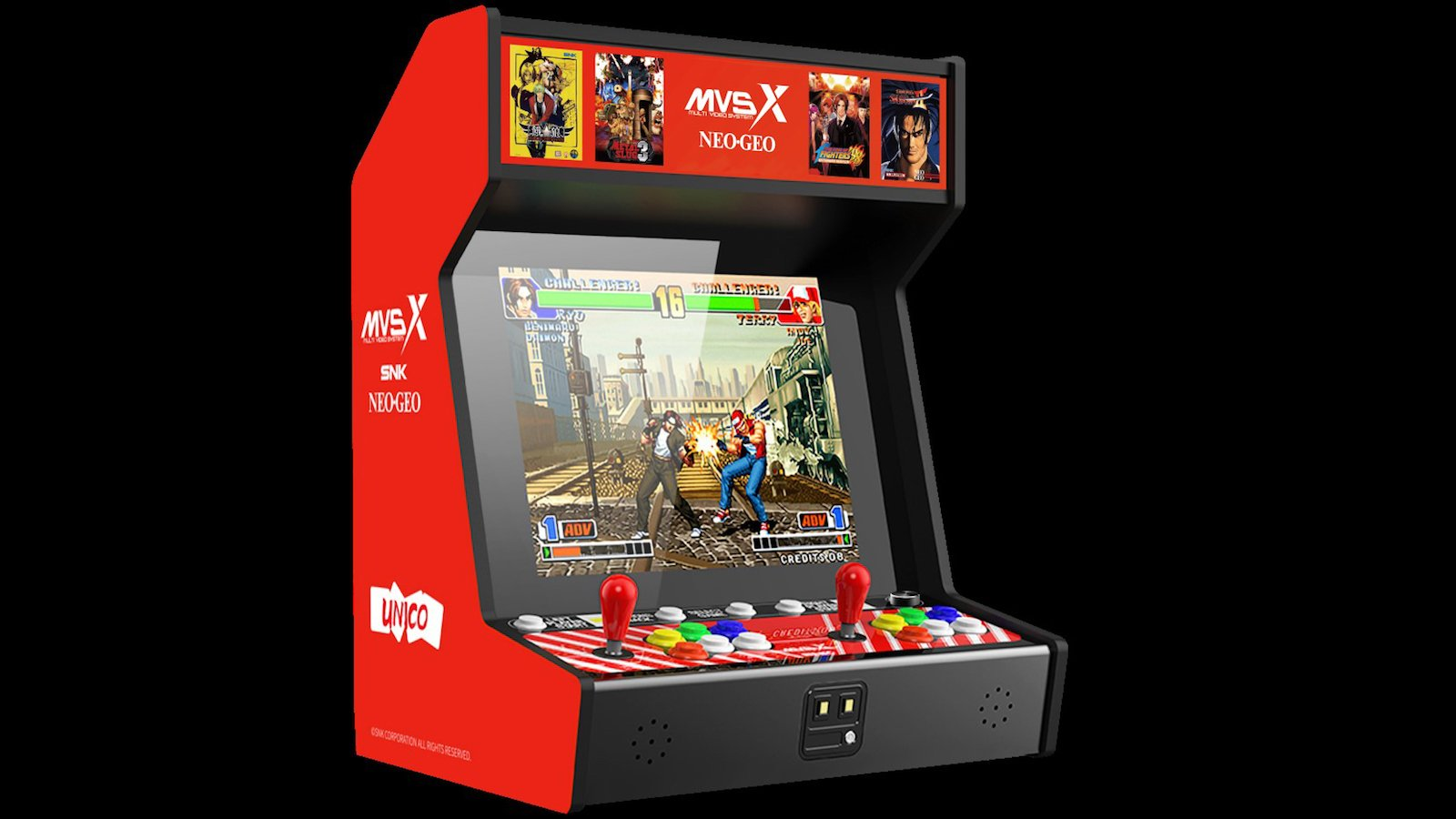 MVSX Home Arcade multivideo system comes with 50 games
