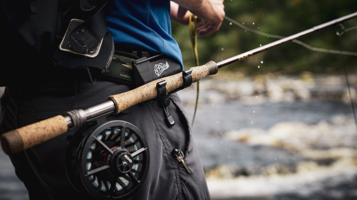 O'Pros 3rd Hand Rod Holder fishing gear rotates 360º to work at any angle