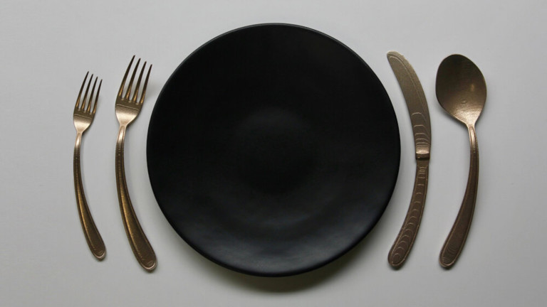 Object Rights Curved Flatware ergonomic cutlery helps reduce wrist pain