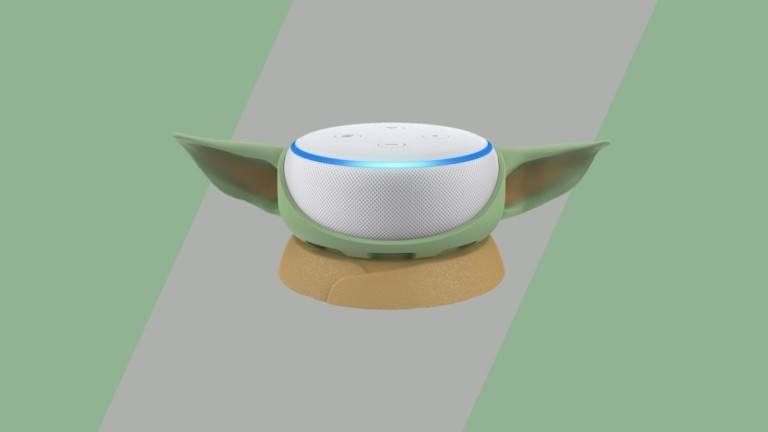 Otterbox Mandalorian Amazon Echo Dot Case turns your device into Baby Yoda