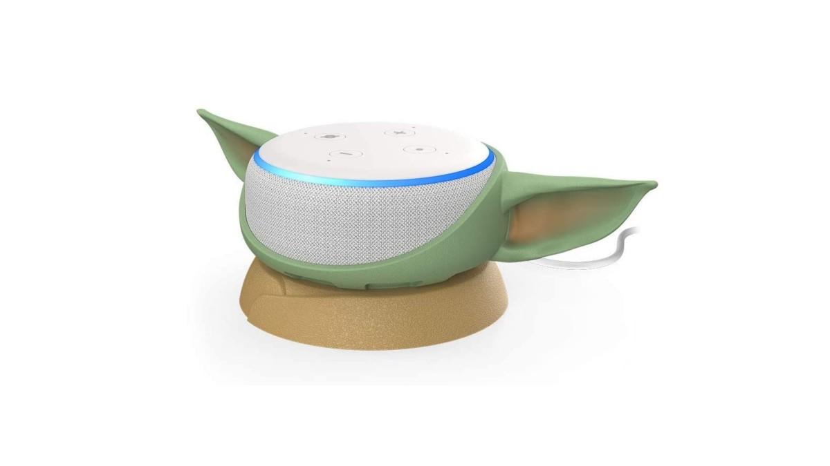 Otterbox Mandalorian Amazon Echo Dot Case turns your device into Baby Yoda
