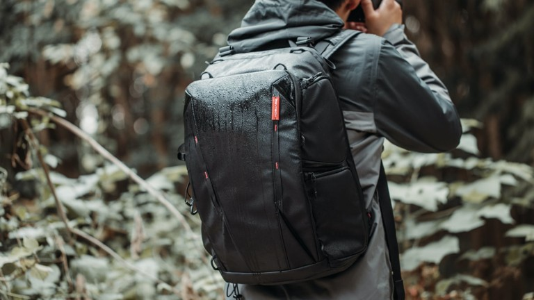 PGYTECH OneMo camera backpack carries everything in black and camo