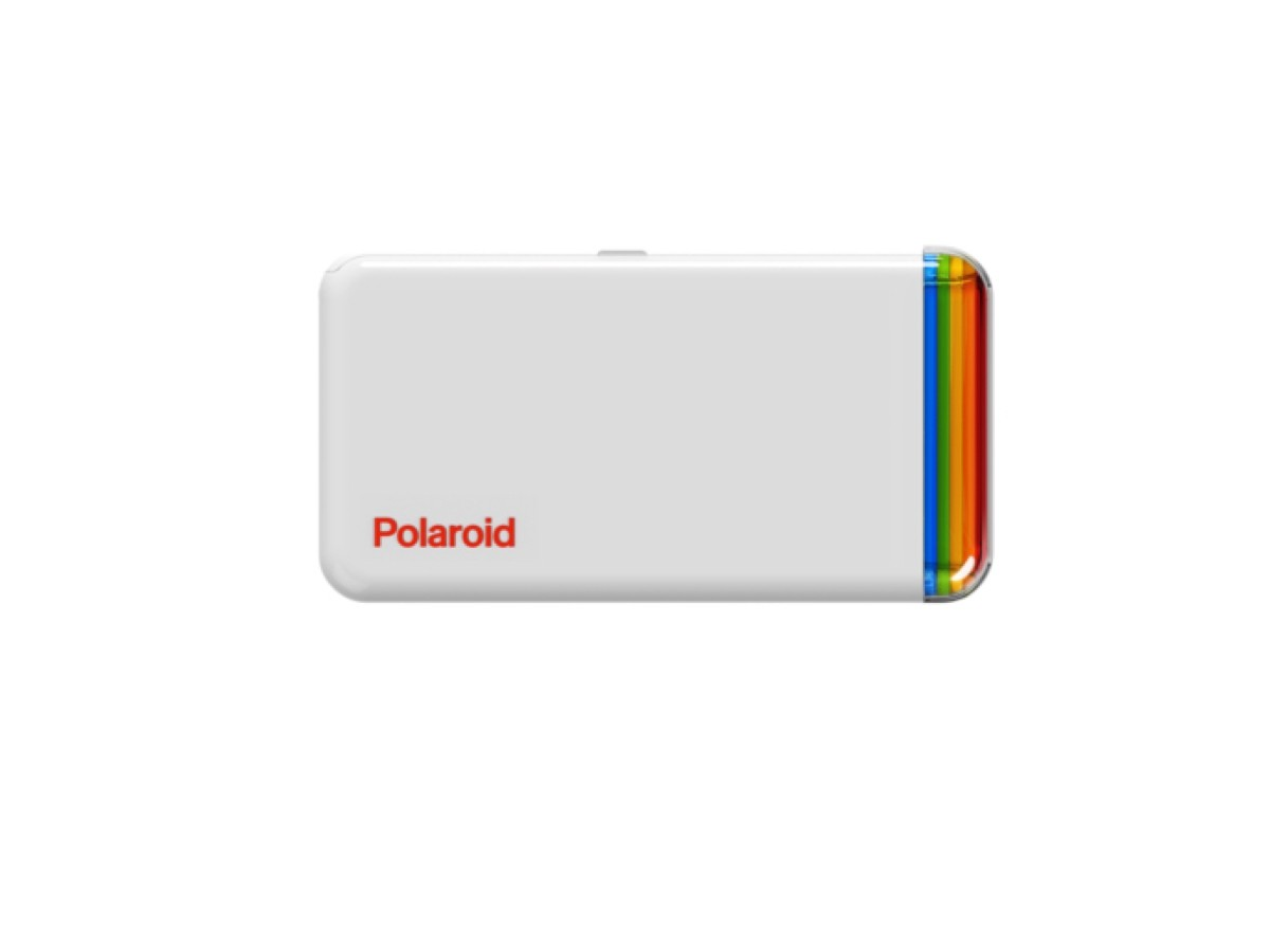 Polaroid Hi-Print 2×3 pocket photo printer prints on self-adhesive paper