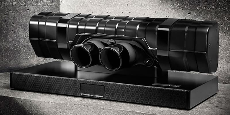 Porsche Design 911 Soundbar Black Edition Breathtaking Speaker