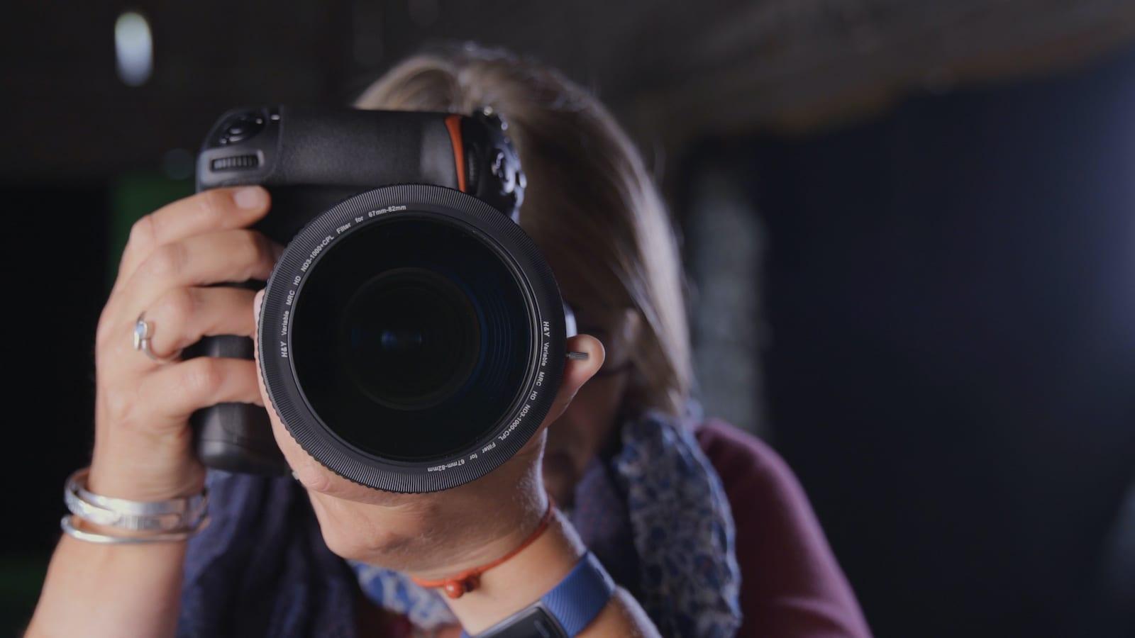 H&Y REVORING Variable ND+CPL Filter System lets you use a single filter on multiple camera lenses