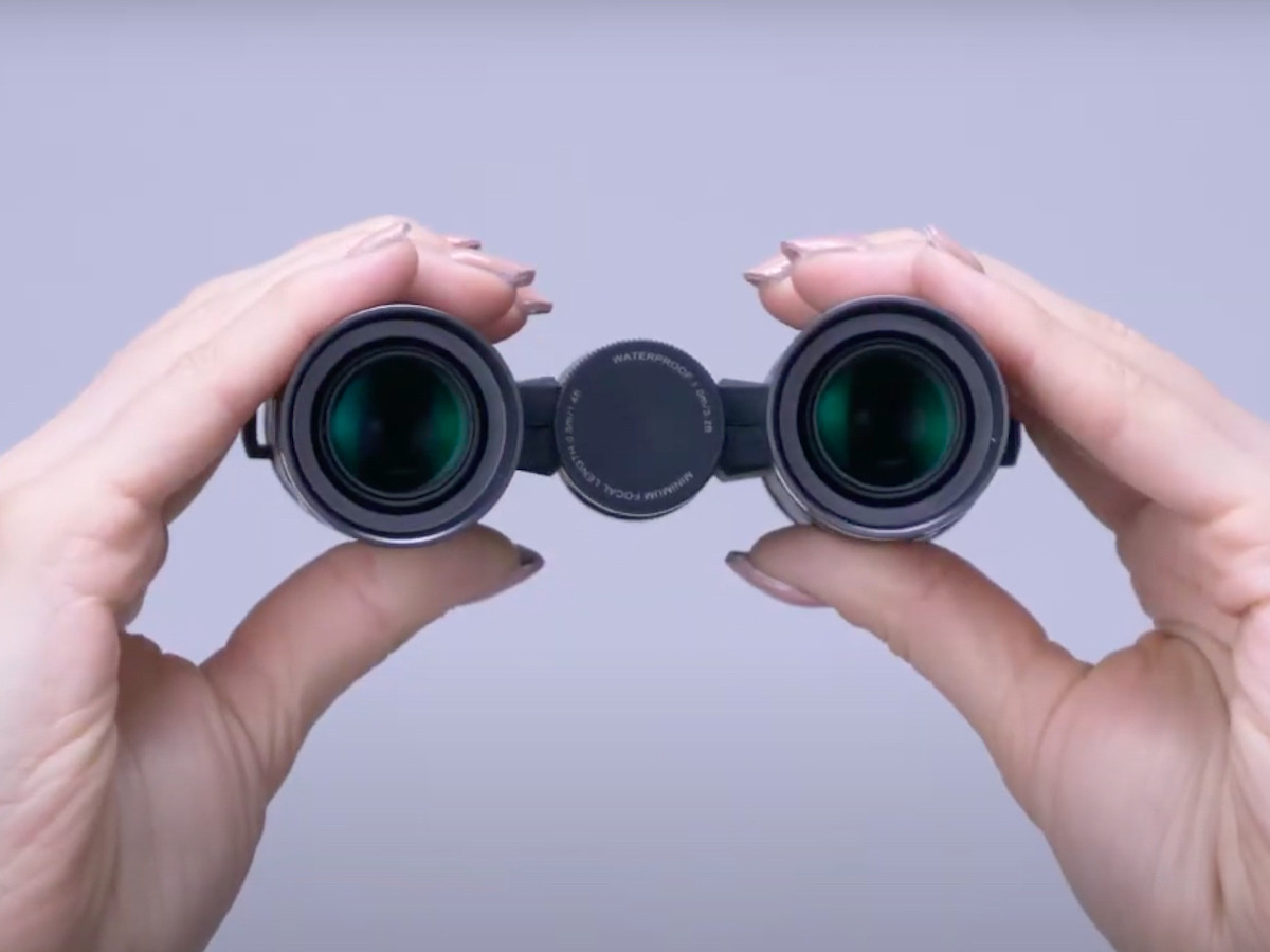 Ricoh PENTAX VD 4×20 WP 3-in-1 binoculars have a detachable construction