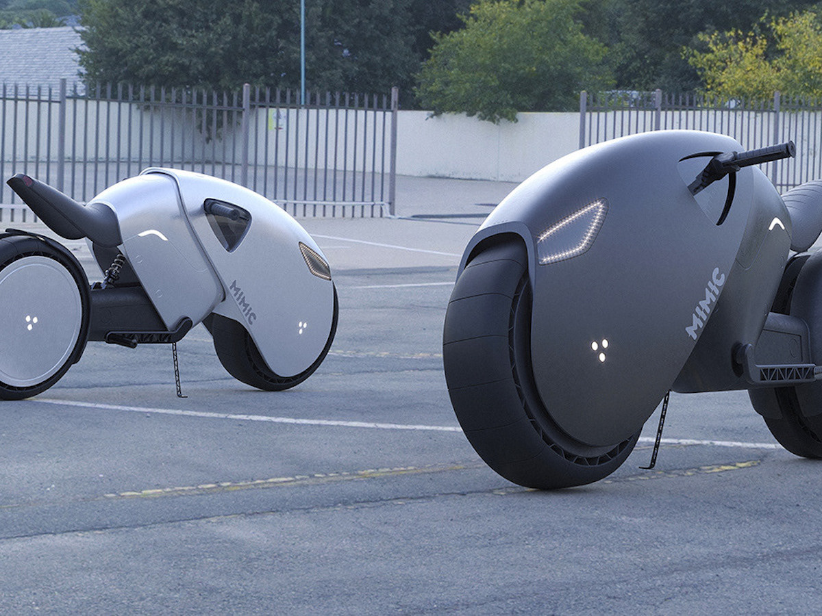 Roman Dolzhenko concept superbike has a futuristic design