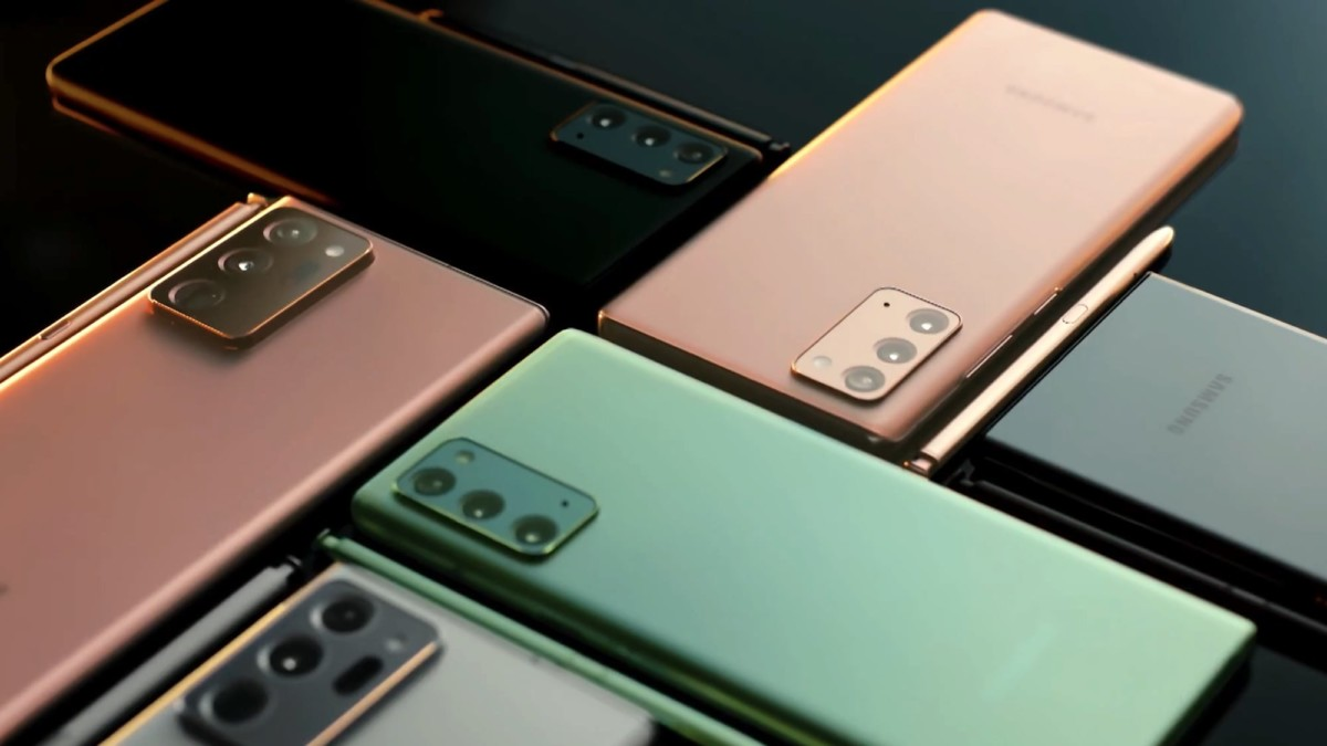 These new Samsung Galaxy Note20 5G smartphones are gorgeous