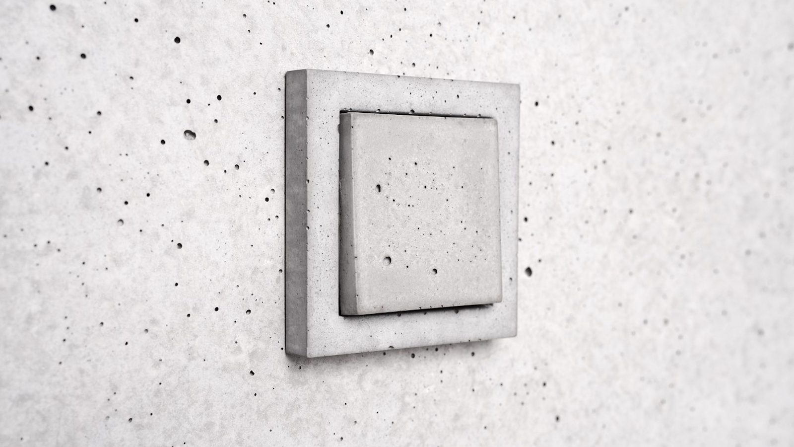 Sekhina Concrete Cover Wall Switch Plates