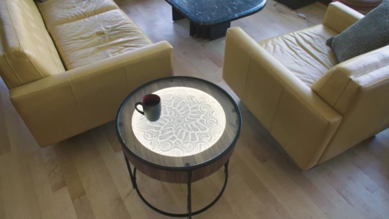 Sisyphus Industries Kinetic Art Table Hardwood Furniture
