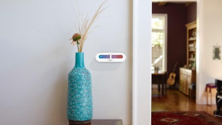 Slide Minimalist Thermostat