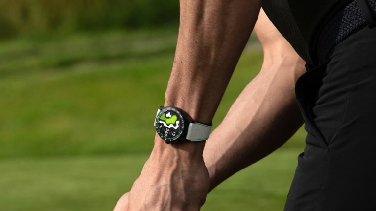 TAG Heuer Connected Golf Edition Titanium Smartwatch