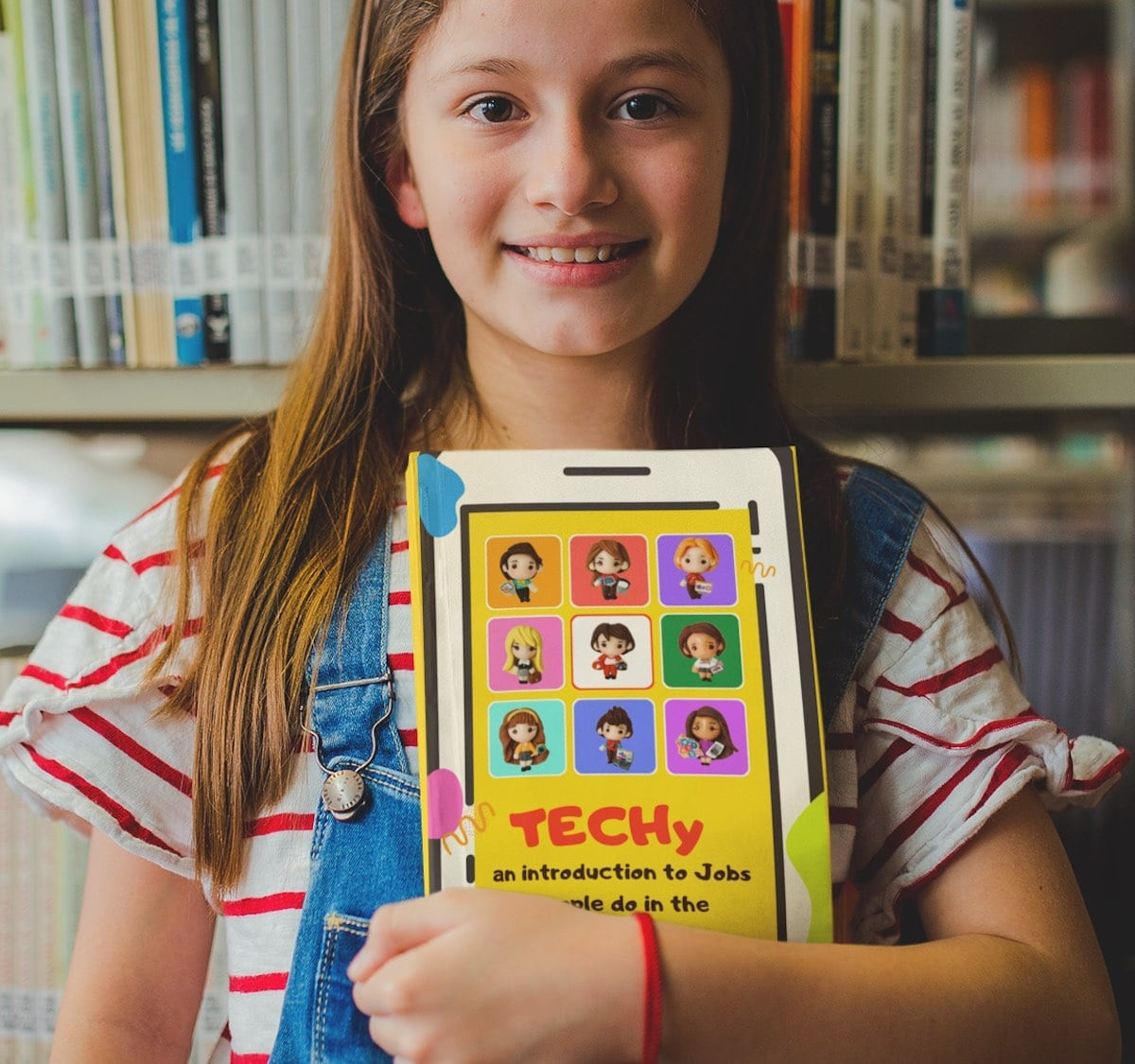 TECHy children's book displays pictures of different tech jobs