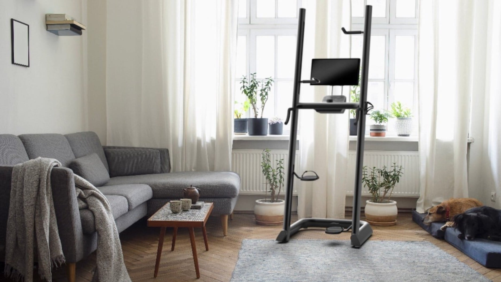 CLMBER Connected Climbing Machine in the House