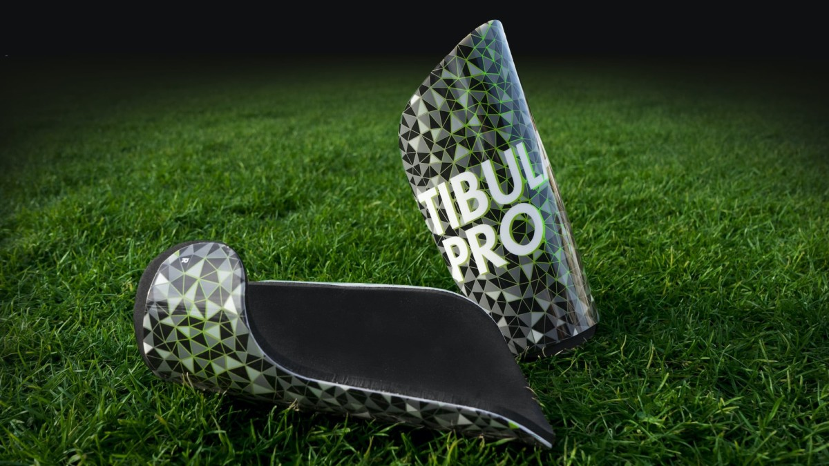 TibulaPro shin guard protects the back of your leg during sports