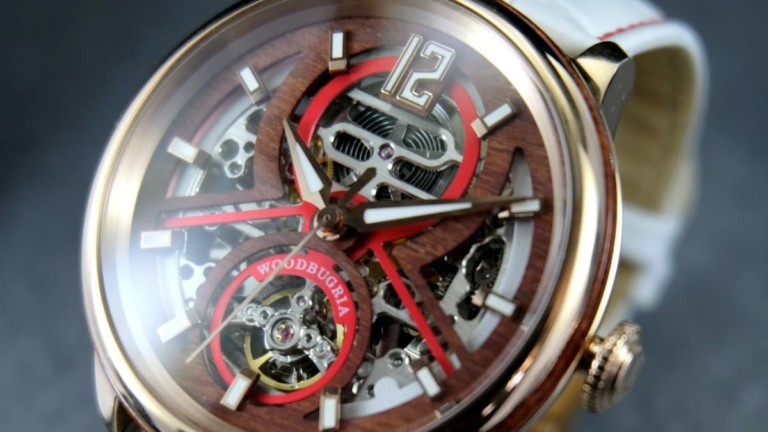 WoodBugria Wooden Automatic Watch