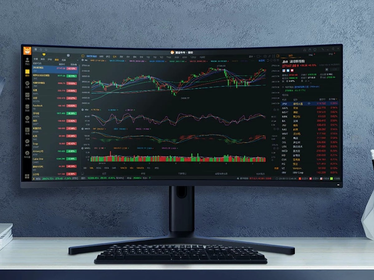 Xiaomi Mi Curved Gaming Monitor 34″ display will completely immerse you