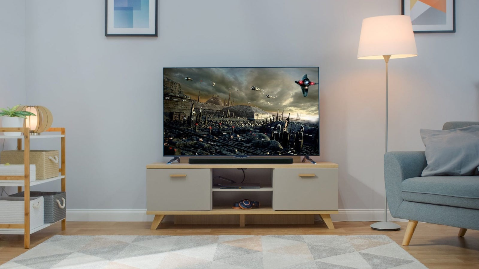 Yamaha SR-B20A home soundbar enhances dialogue clarity